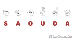 Saouda en langue des signes
