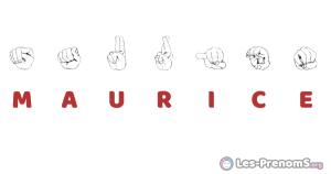 Maurice en langue des signes