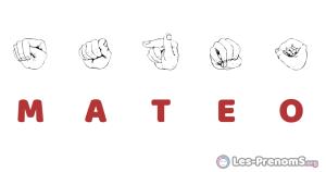 Mateo en langue des signes
