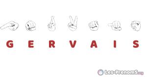 Gervais en langue des signes