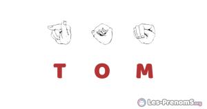 Tom en langue des signes