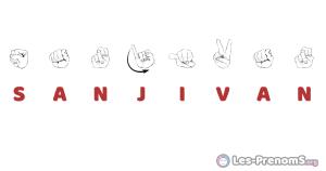 Sanjivan en langue des signes